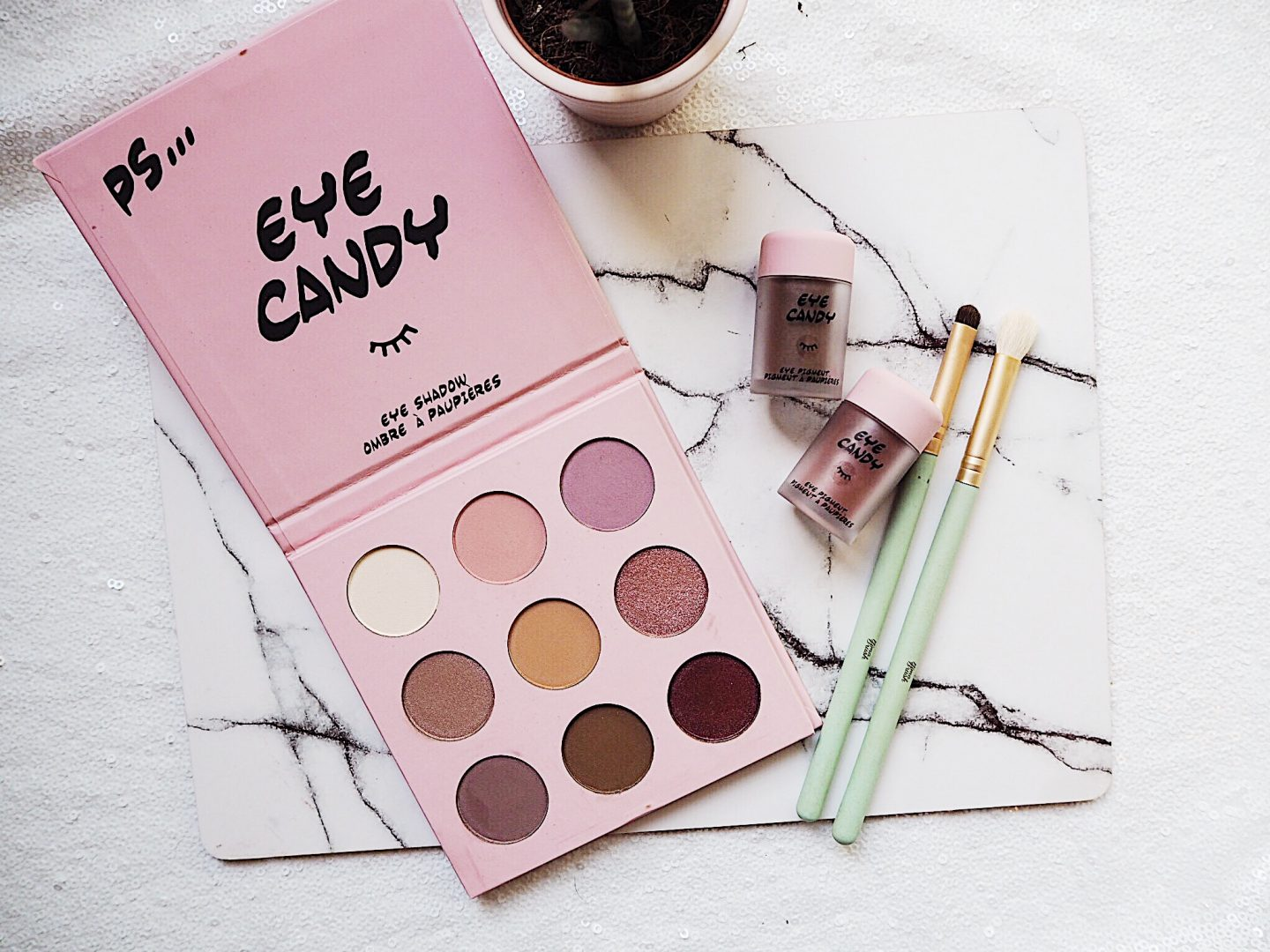 Eye Candy Eyeshadow Palette and Pigments By Primark