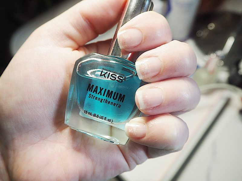 DIY Manicure, kiss, nail strengthener, bring the salon home