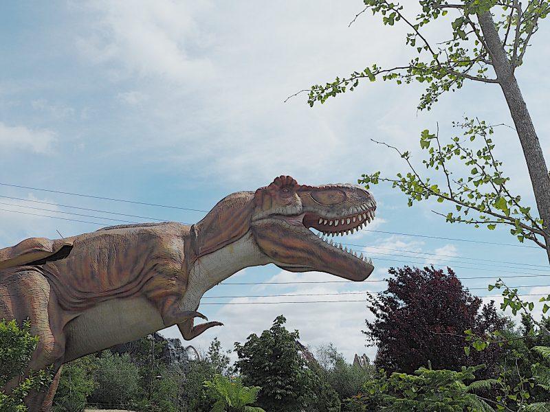 tayto park dinosaur