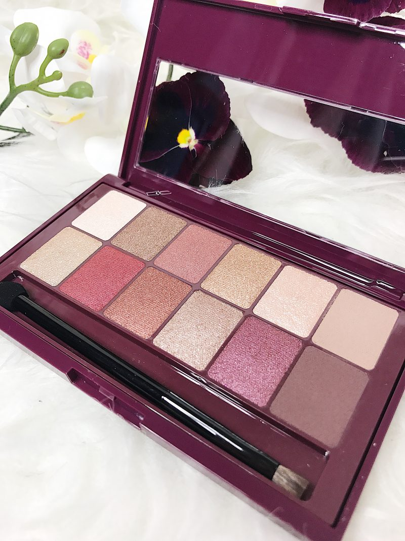 the burgundy bar, maybelline, eyeshadow palette, affordable makeup, burgandy eyeshadow
