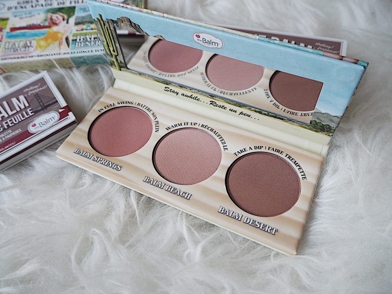 the balm girls getaway trio