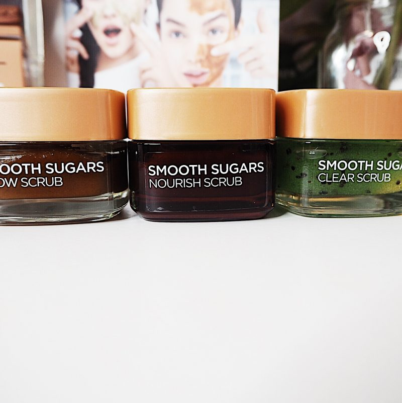 smooth sugars scrubs l'oreal