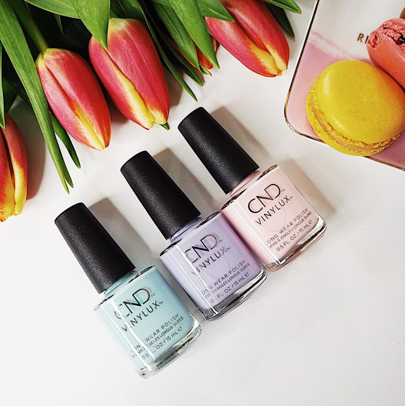 cnd chic shock collection vinylux nail polish manicure pedicure