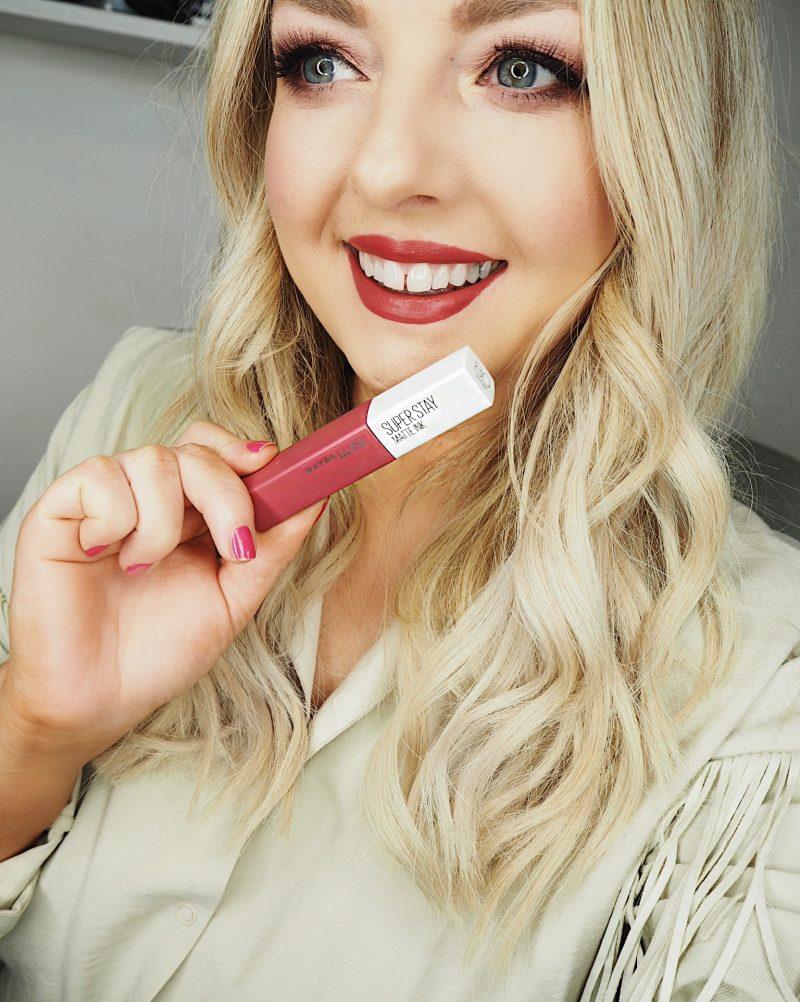 unnudes matte ink lip colour maybelline