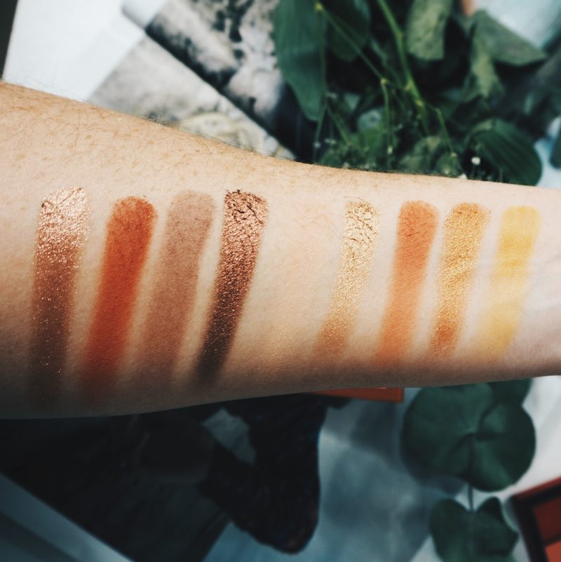 huda beauty topaz obsessions swatches