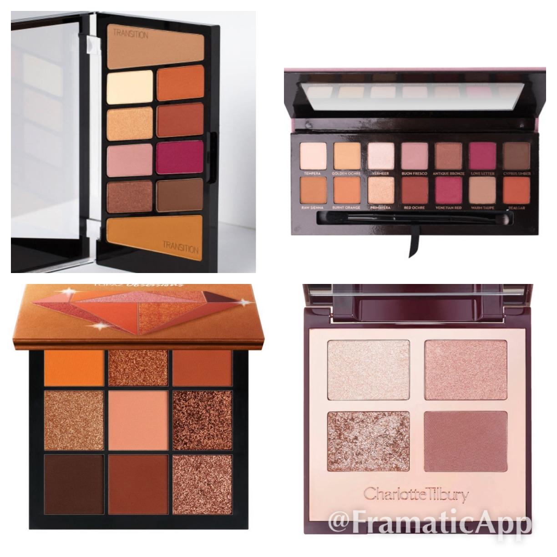 15 Favourite Eyeshadow Palettes