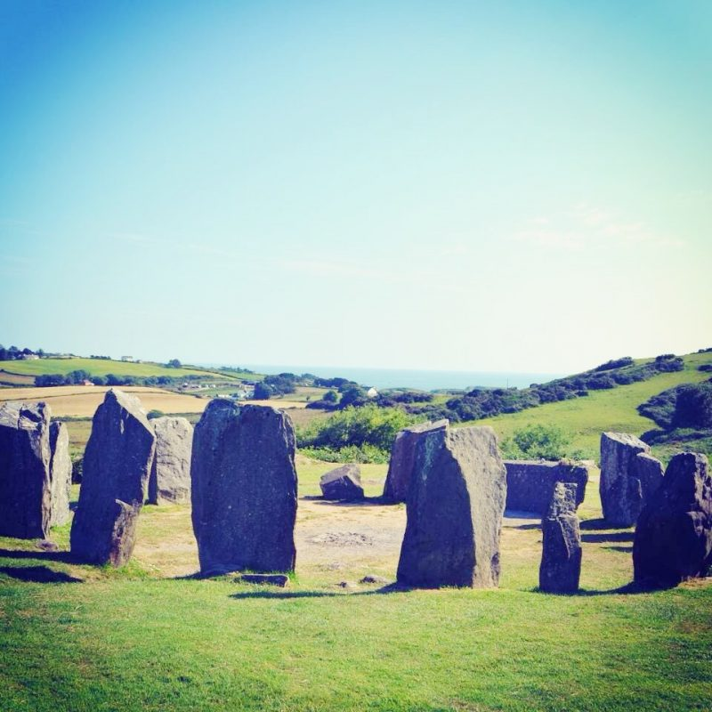 irish cultural drives drombeg stone circle