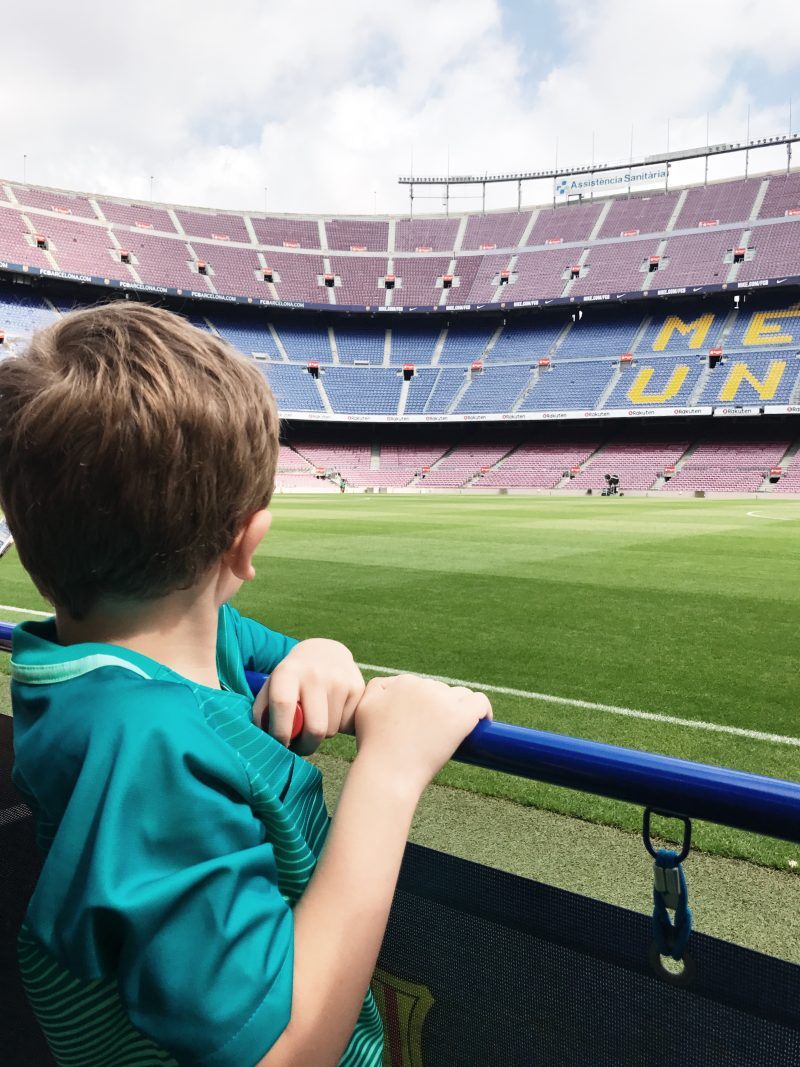 camp nou stadium, barcelona salou