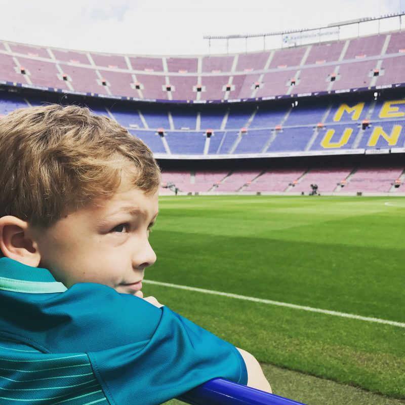 salou, barcelona, camp nou stadium, family holiday
