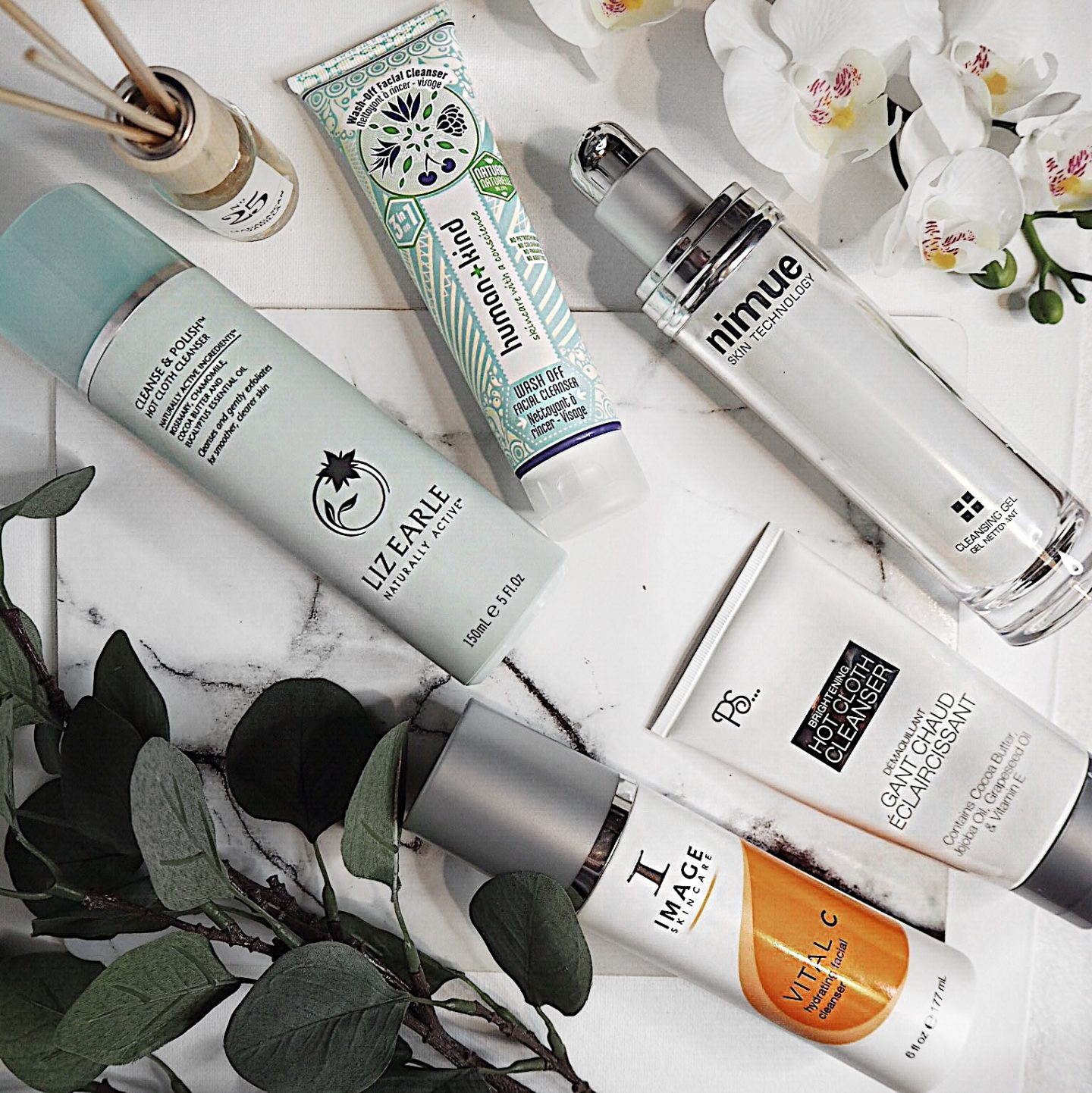 cleansers review nimue image skincare human and kind primark beauty liz earle dermalogica bioderma