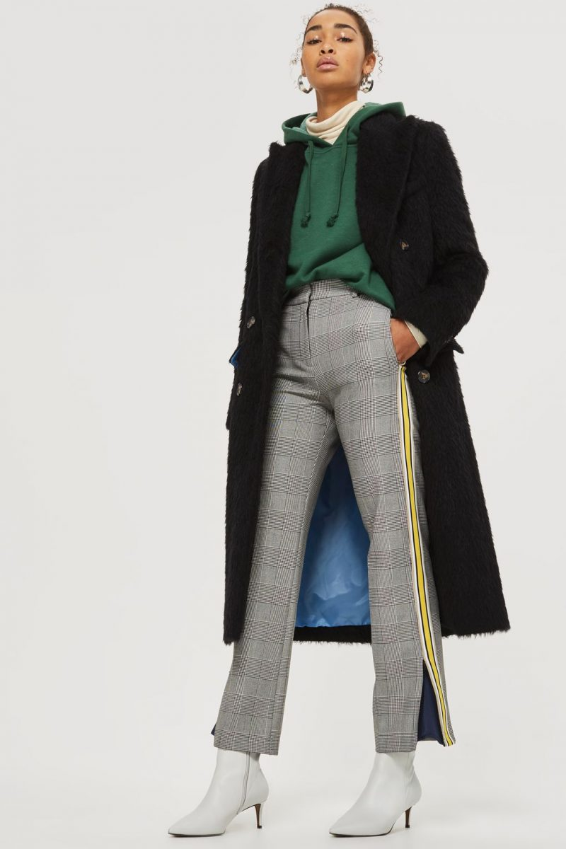 athleisure trend fashion topshop check trousers