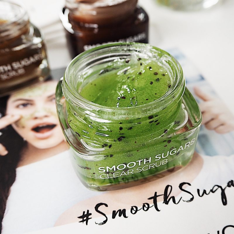 smooth sugars scrubs l'oreal paris