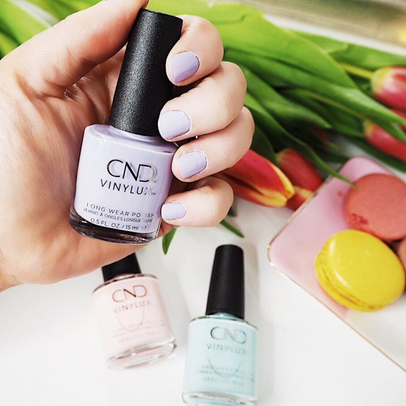 cnd chic shock collection vinylux manicure pedicure