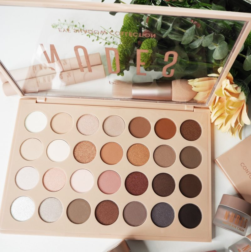 ps nudes collection eyeshadow palette penneys beauty