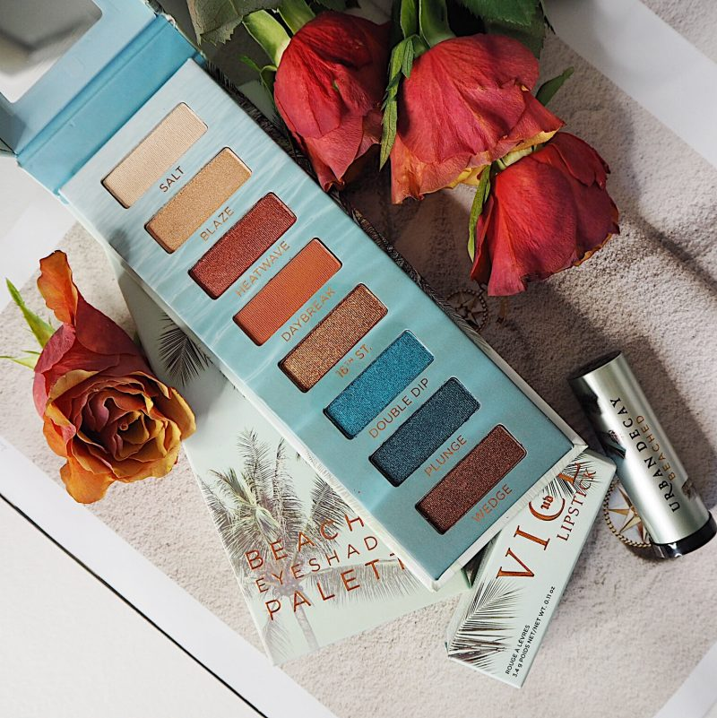 beached eyeshadow palette urban decay
