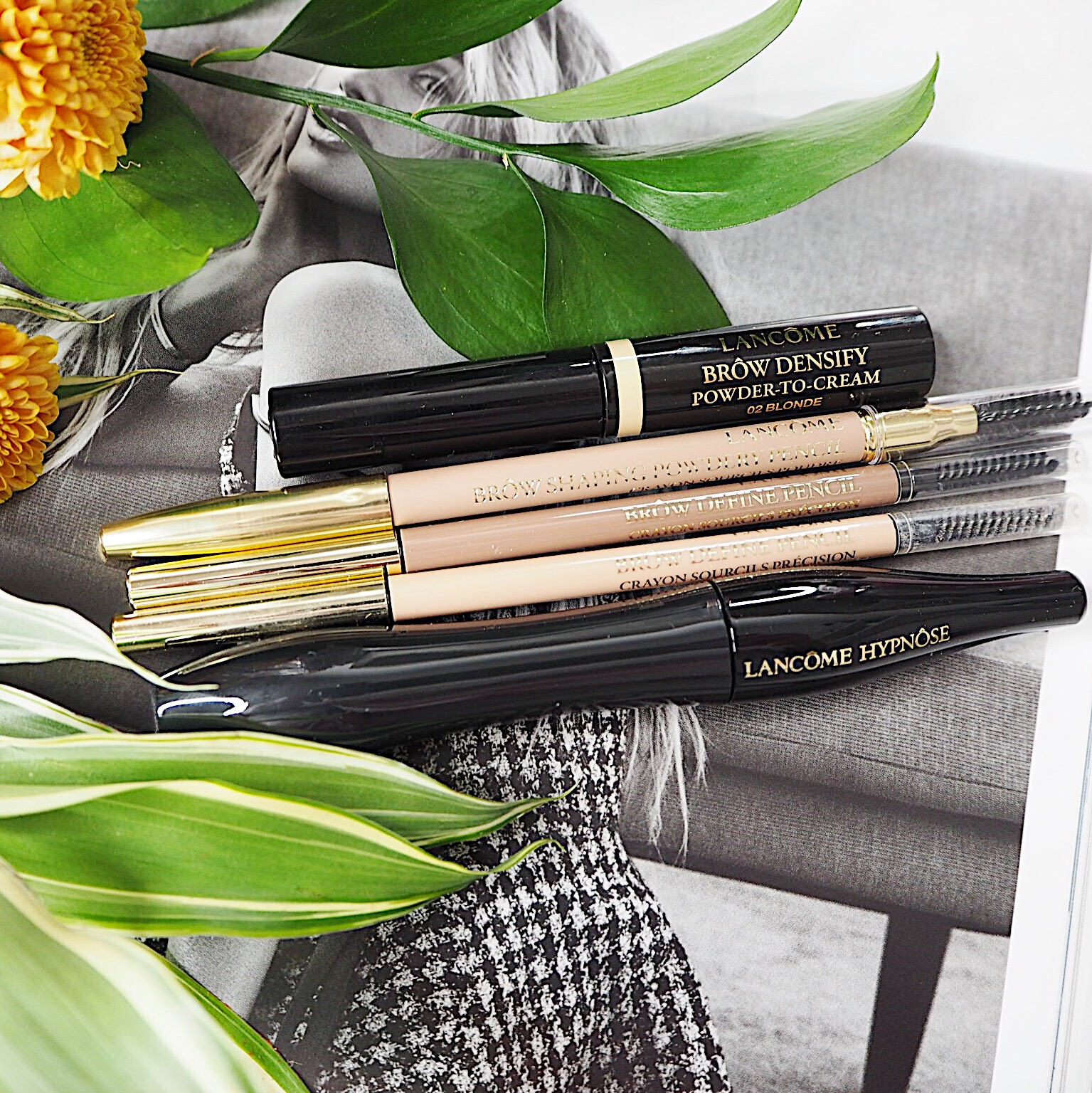 Brows and Lashes – Lancome Brow Densify and Hypnose Mascara