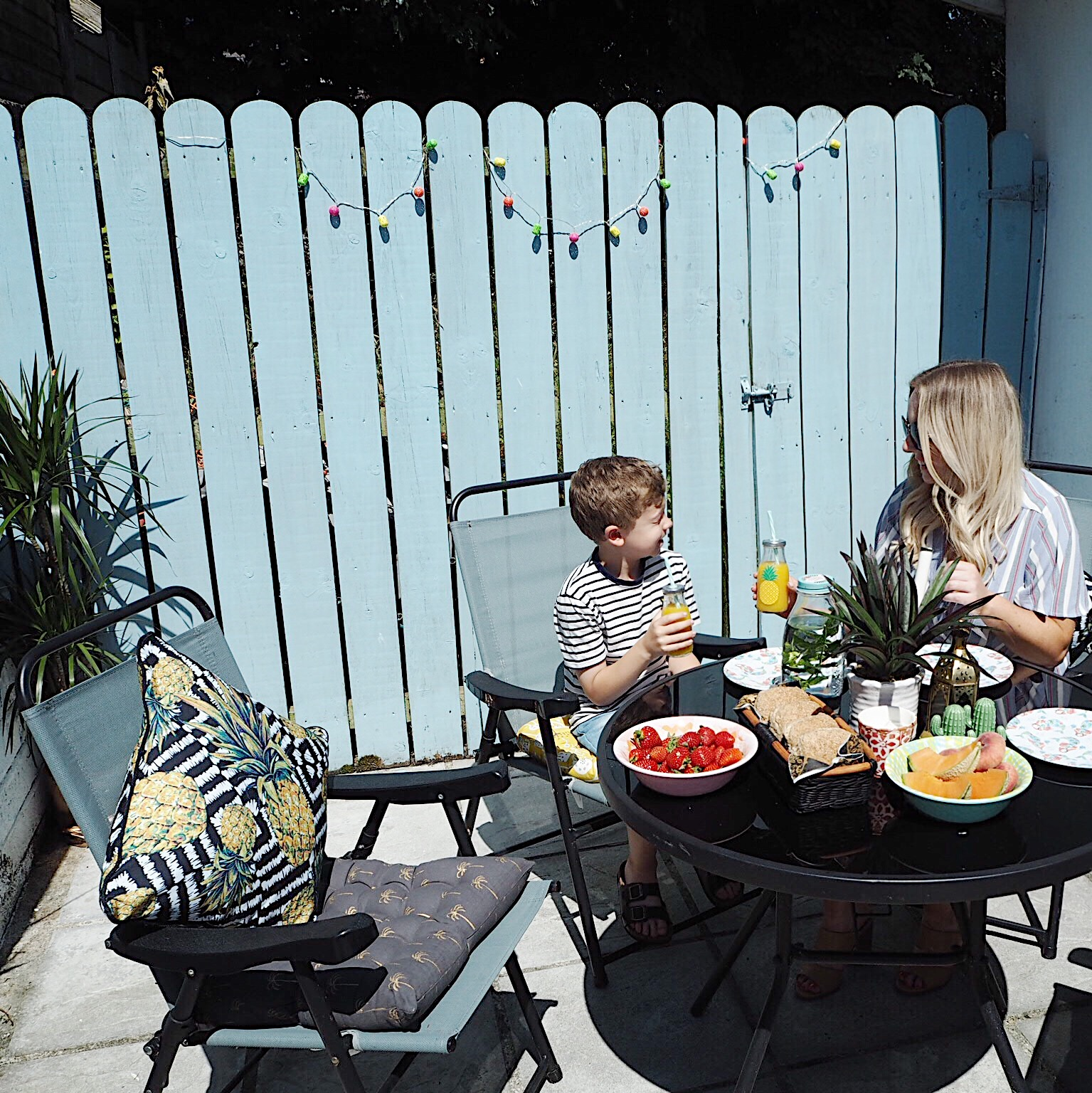 Outdoor Dining With TK Maxx