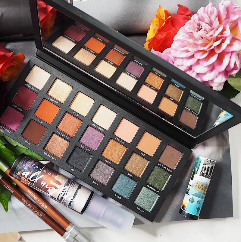 Born To Run Palette collection urban decay