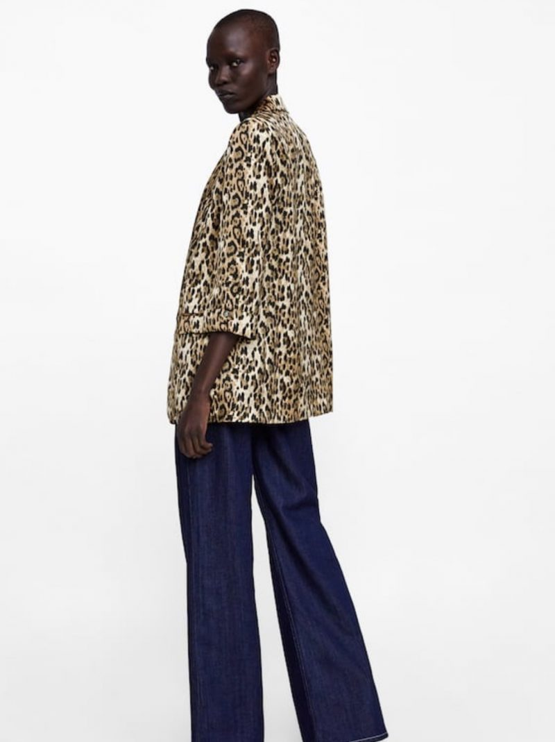 asos zara online shopping animal print leopard print dress
