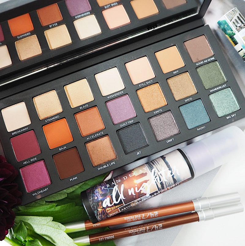 born to run collection palette urban decay