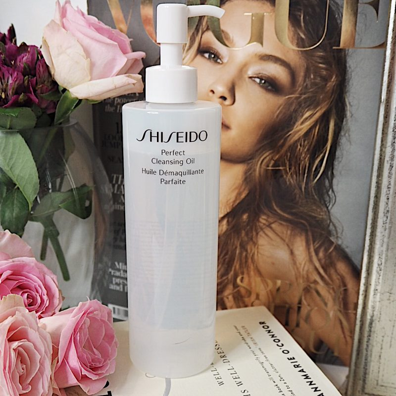 double cleansing shiseido cleansing oil skincare