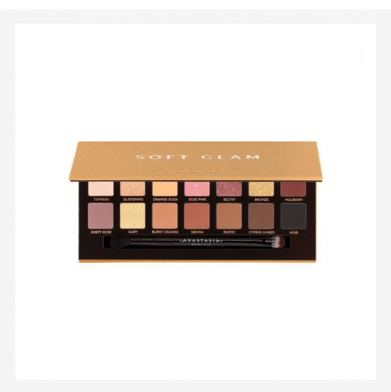 christmas gift guide anastasia soft glam palettes