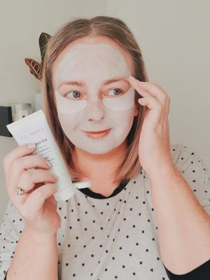 how to brighten skin at home farmacy bright on vitamin c mask review
