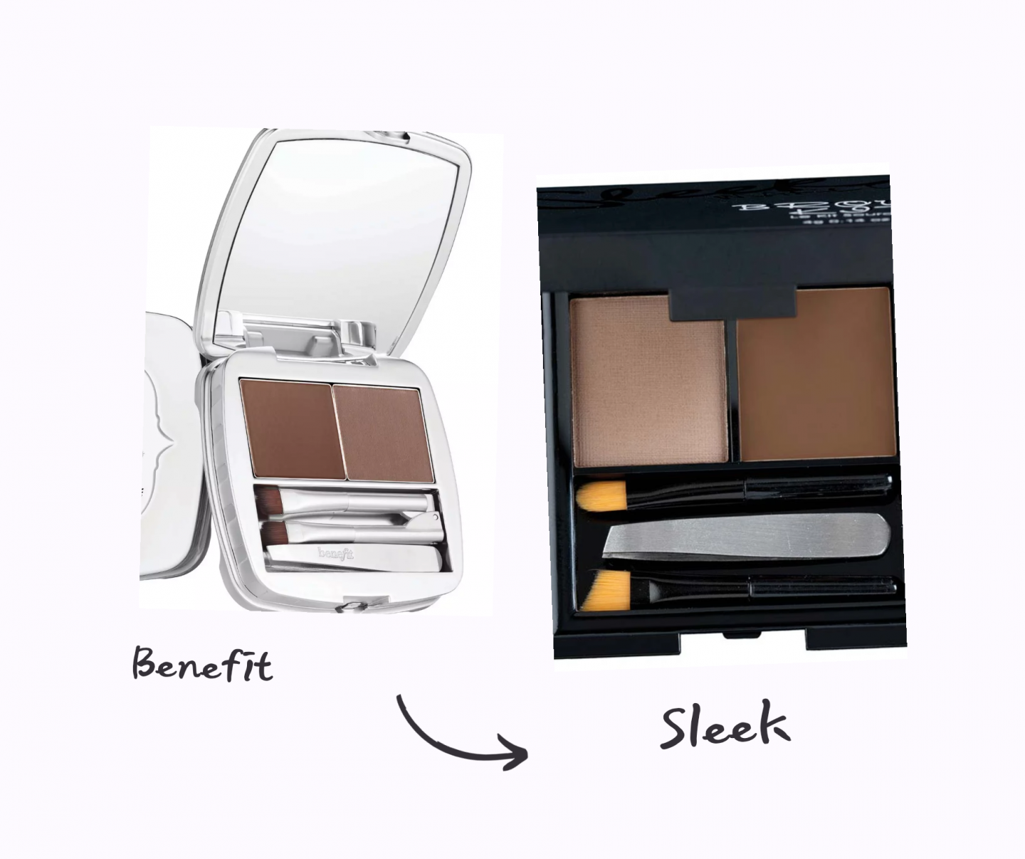 benefit brow zings dupe dupes for iconic high end products