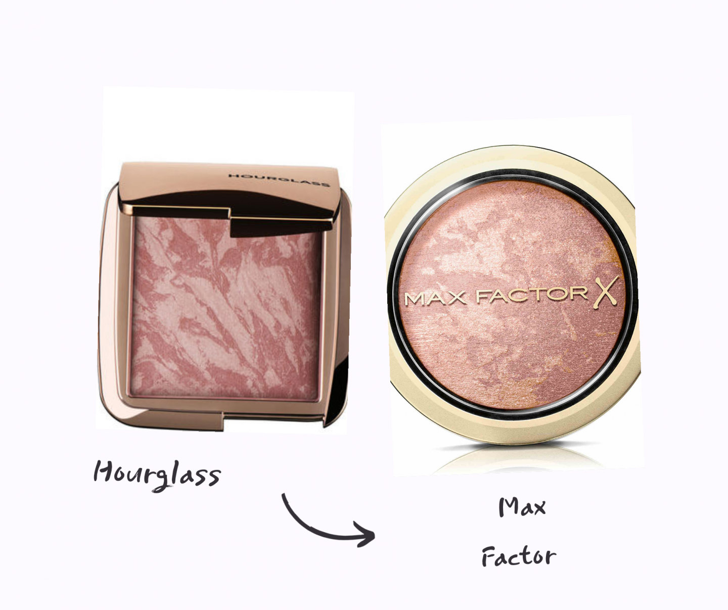 hourglass dupe dupes for iconic high end products