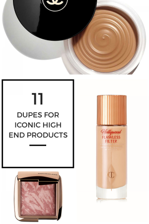 dupes for iconic high end products