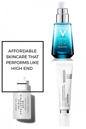 affordable skin care that performs like high end dupes